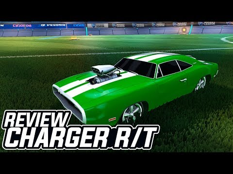 "DODGE CHARGER R/T, VALE A PENA? O NOVO ""DOMINUS""? ME SURPREENDI?! - Rocket League"