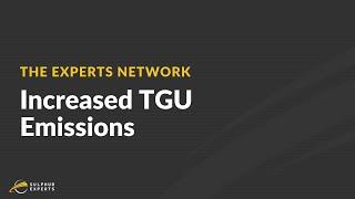 How to Fix Increased TGU Emissions