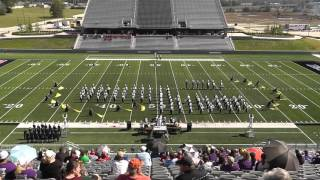 C.E. King High School Band 2015 - UIL 5A Area F Marching Contest