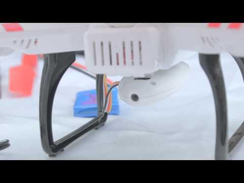 WL Toys V686G FPV Quadrocopter von gearbest.com Review & Unboxing  in deutsch