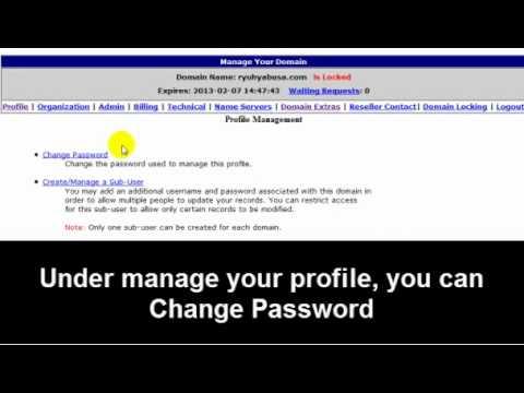 How Do I Manage My Domain(s)?