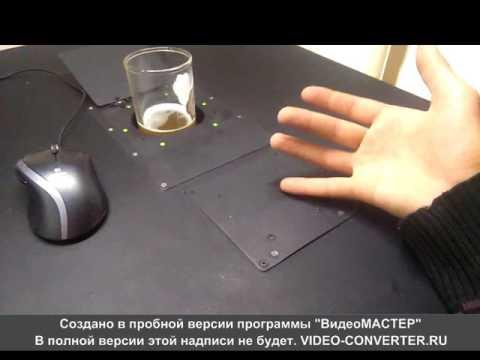 Умный стол своими руками. Tabula Sense handmade.