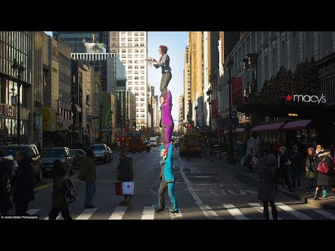 Unbelievable Circus Tricks in New York City Streets