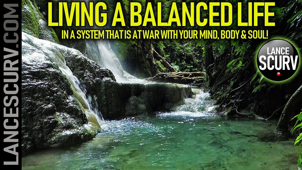 LIVING A BALANCED LIFE IN A SYSTEM THAT IS AT WAR WITH YOUR MIND, BODY & SOUL! - The LanceScurv
