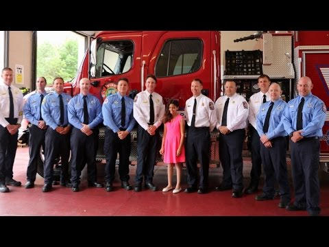 Firefighters Name New Truck After Baby Abandoned at Their Station 11 Years Ago