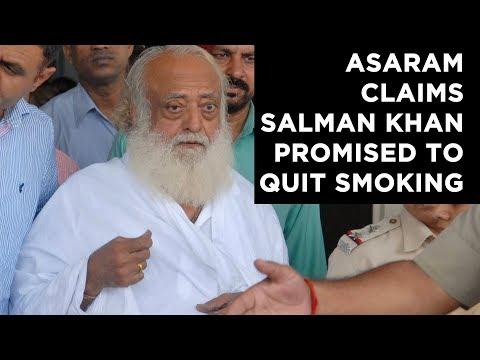Asaram claims Salman Khan promised to quit smoking