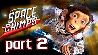 Space Chimps Walkthrough Part 2 (Xbox 360, PS2, Wii, PC) ~ 100% ~ Level 2