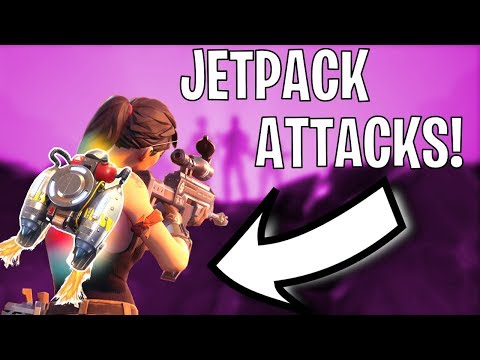 LEGENDARY JETPACK! SOLID GOLD FORTNITE MODE!