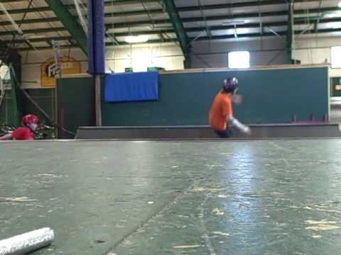 Gunnar Skateboarding at the anti gravity  center