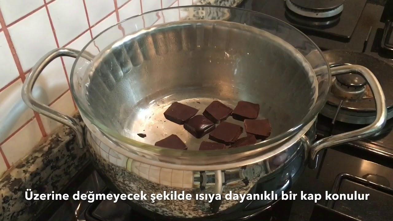 Benmari Yöntemi İle Çikolata Eritme Tarifi Videosu