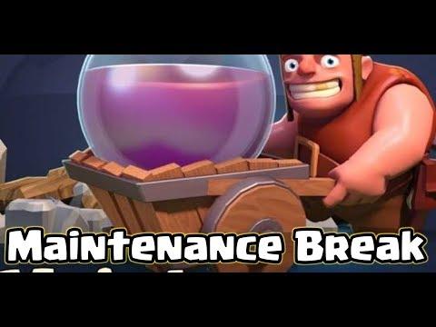 Live I Maintenance Break I Clash Of Clans New update??