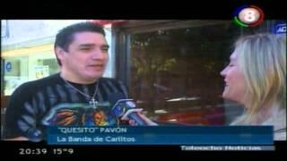 Teleocho Noticias Segunda Edición - Nota A Keso De La Banda De Carlitos - Miércoles 08/08/2012