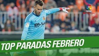 TOP Paradas Febrero LaLiga Santander 2017/2018