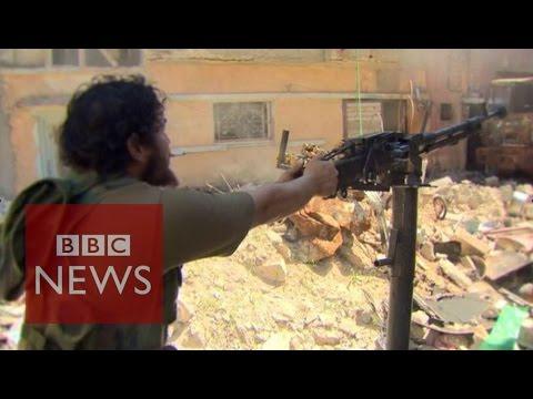 Libya: Face to face with jihadists - BBC News