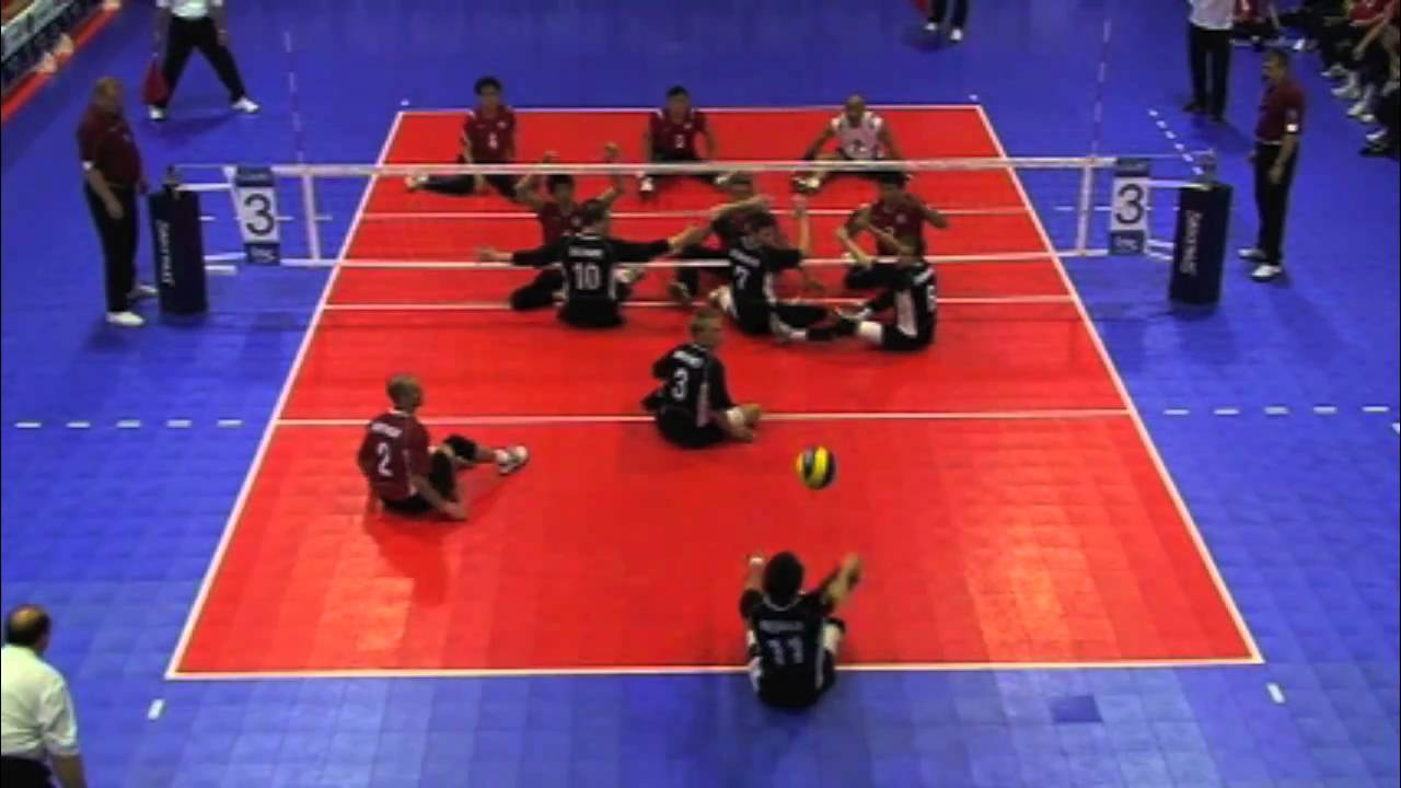 rules of sitting down volleyball There's one key rule to playing sitting volleyball, and heather cox learns early on  how difficult it can be  tyrann mathieu likes having one defined positionnfl.