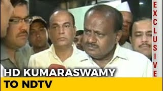 Will Sort Out Issues With Congress, Says HD Kumaraswamy