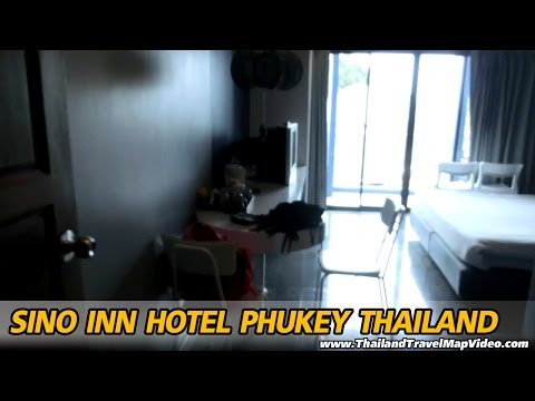 Sino Inn Hotel cheap Phuket ที่พัก ราคาถูก ภูเก็ต Review รีวิว Map แผ่นที่