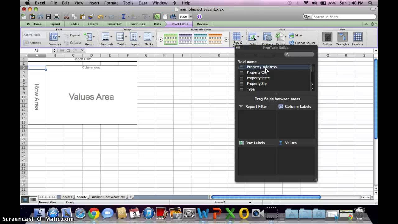Creating A Pivot Table For Hot Zip Codes YouTube - Us zip codes list excel