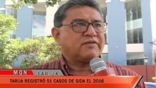 TARIJA REGISTRO 51 CASOS DE SIDA EL 2016