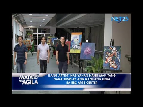 Obra ng iba pang artists, makikita sa EBC arts center