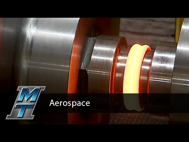Inertia Friction Welder for Aerospace Component - Model 480B