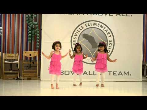 Kashmir main tu Kannyakumari by small girls
