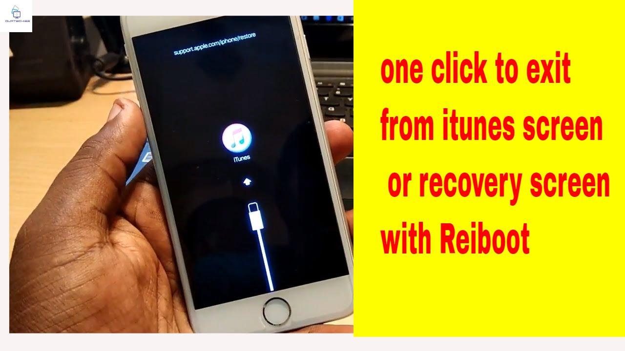 fix iphone 6 screen how to fix iphone stuck on recovery screen using reiboot 1687