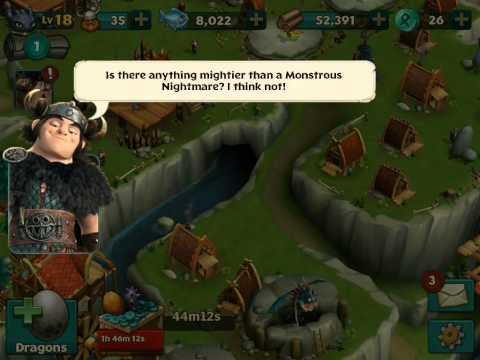 Игра Как приручить дракона Поиски алфавита How to Train