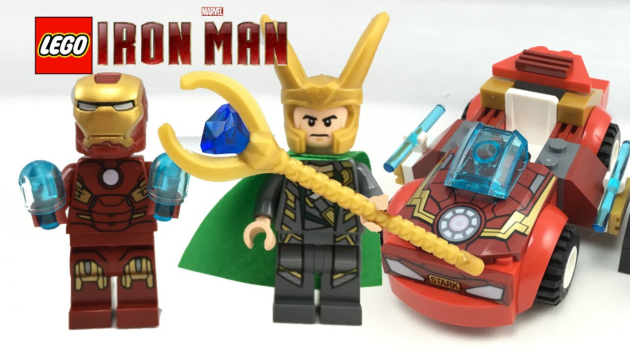 LEGO Iron Man vs. Loki 2016 set review! 10721 - YouTube