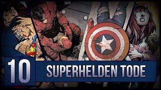 Top 10 der wichtigsten Superhelden-Tode!