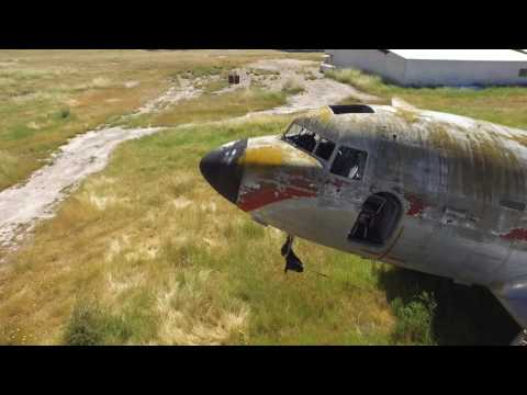 Abandoned DC3 Near Santiago CHILE (MUST SEE)
