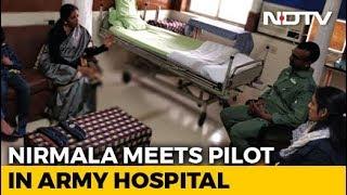 Defence Minister Meets Air Force Pilot Abhinandan Varthaman In Hospital
