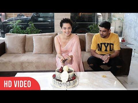 Kangana Ranaut's Birthday | Full Video | Cake cutting celebration