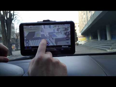 Обзор GPS навигатор Pioneer Pi745i + камера заднего вида 7