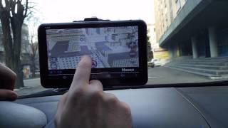 "Обзор GPS навигатор Pioneer Pi745i + камера заднего вида 7"" 8 Ядер Android 4.4 8GB Wi-Fi BT AV-in"