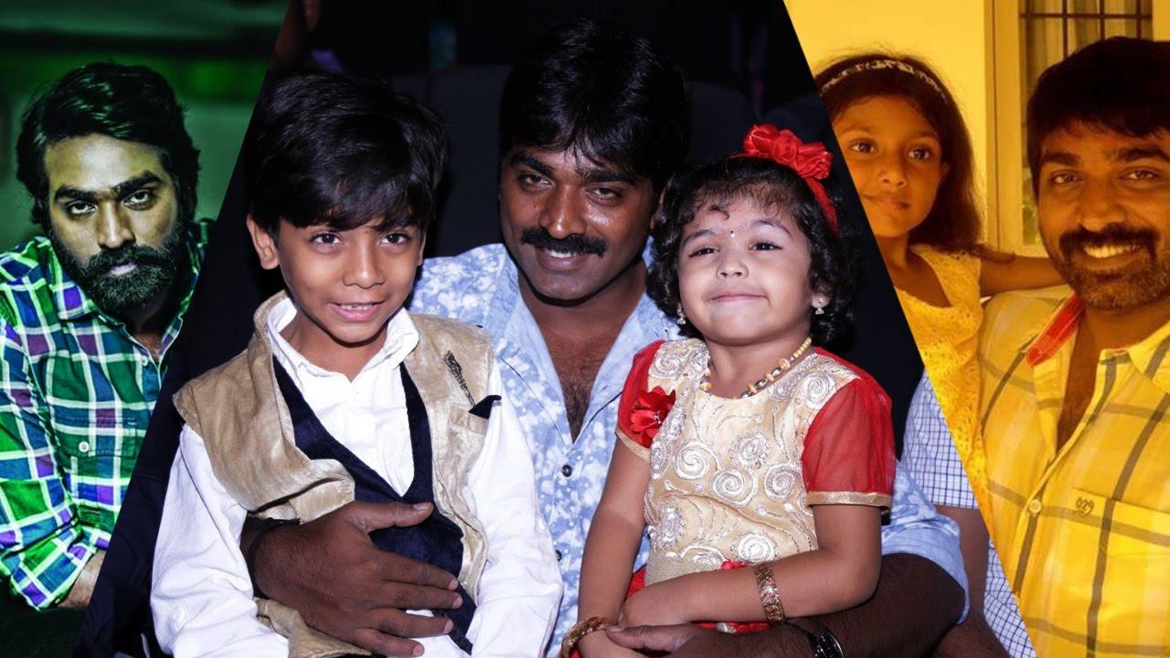 Vijay Sethupathi Family Photos  Actor Vijay Sethupathi -7922