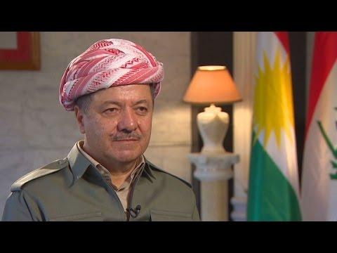 Masoud Barzani: We support Obama's strategy