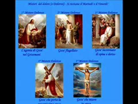 Santo Rosario - I misteri del Dolore