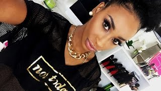 MAKEUP TUTORIAL FOR BEGINNERS | FLAWLESS SIMPLE BEAT | BLACK WOMEN