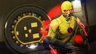 GTA 5 Mods - NEW REVERSE-FLASH MOD w/ SUPER SPEED! GTA 5 Flash Mod Gameplay! (GTA 5 Mods Gameplay)