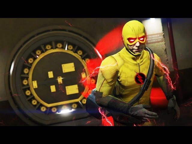 GTA 5 Mods - NEW REVERSE-FLASH MOD w/ SUPER SPEED! GTA 5 Flash Mod Gameplay! (GTA 5 Mods Gameplay)