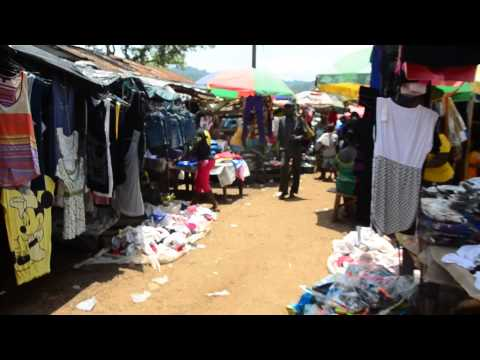 Local Market ~ Kenema in Sierra Leone ~