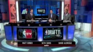 Jimmer Fredette NBA Draft 10th Overall Sacramento Kings