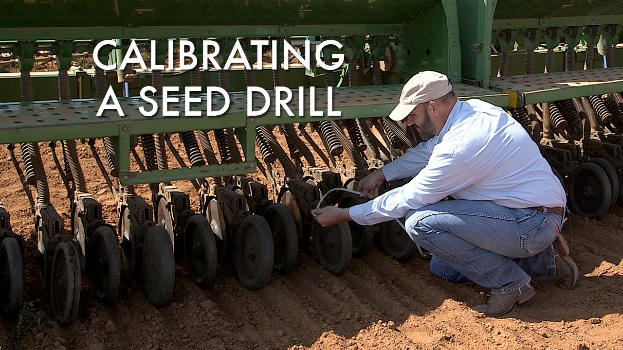 Seed Drill Calibration - YouTube
