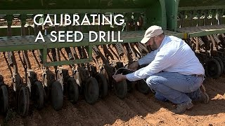 Seed Drill Calibration