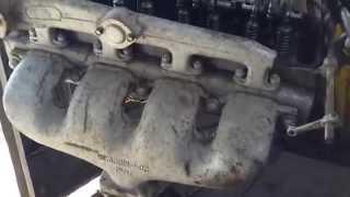 Головка блока цилиндров . Двигатель ЯАЗ-204Г. Обзор