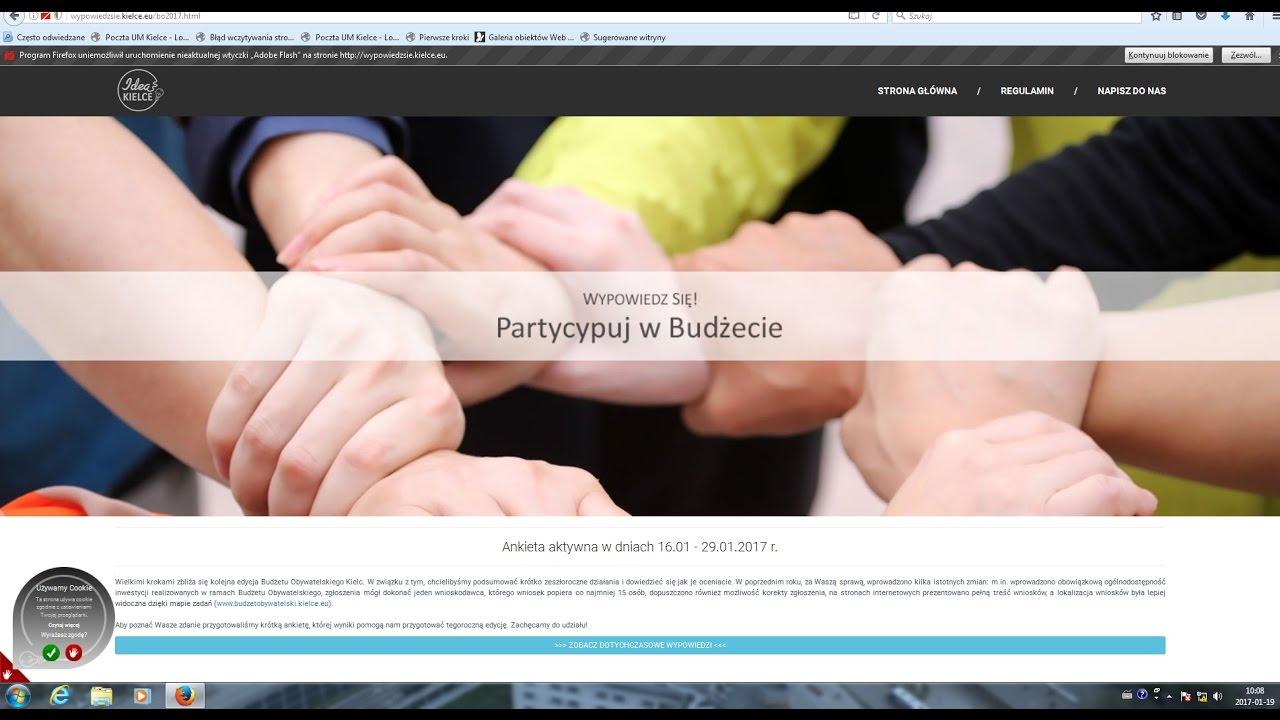 Pytają o Budżet Obywatelski – ITV Kielce
