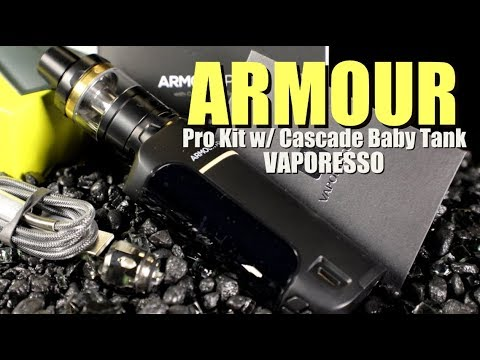 Armour Pro Kit w: Cascade Baby Tank by Vaporesso ~Vape Kit Review~
