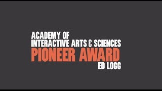 Ed Logg (Asteroids, Centipede, Gauntlet) Pioneer Award Video