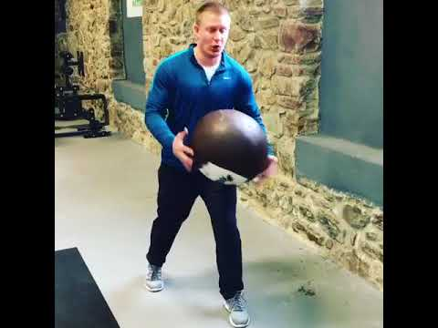 Bethlehem Gym-Rotational Med Ball Throw Technique